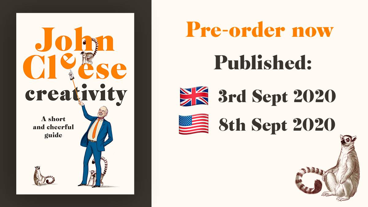 Ive written a new book about creativity which Ive creatively called CREATIVITY. Yes, this kind of genius is within reach even for you. It comes out 3 September in the UK and 8 September in the US. Pre-order your copy from @waterstones & across retailers smarturl.it/tj9gf4