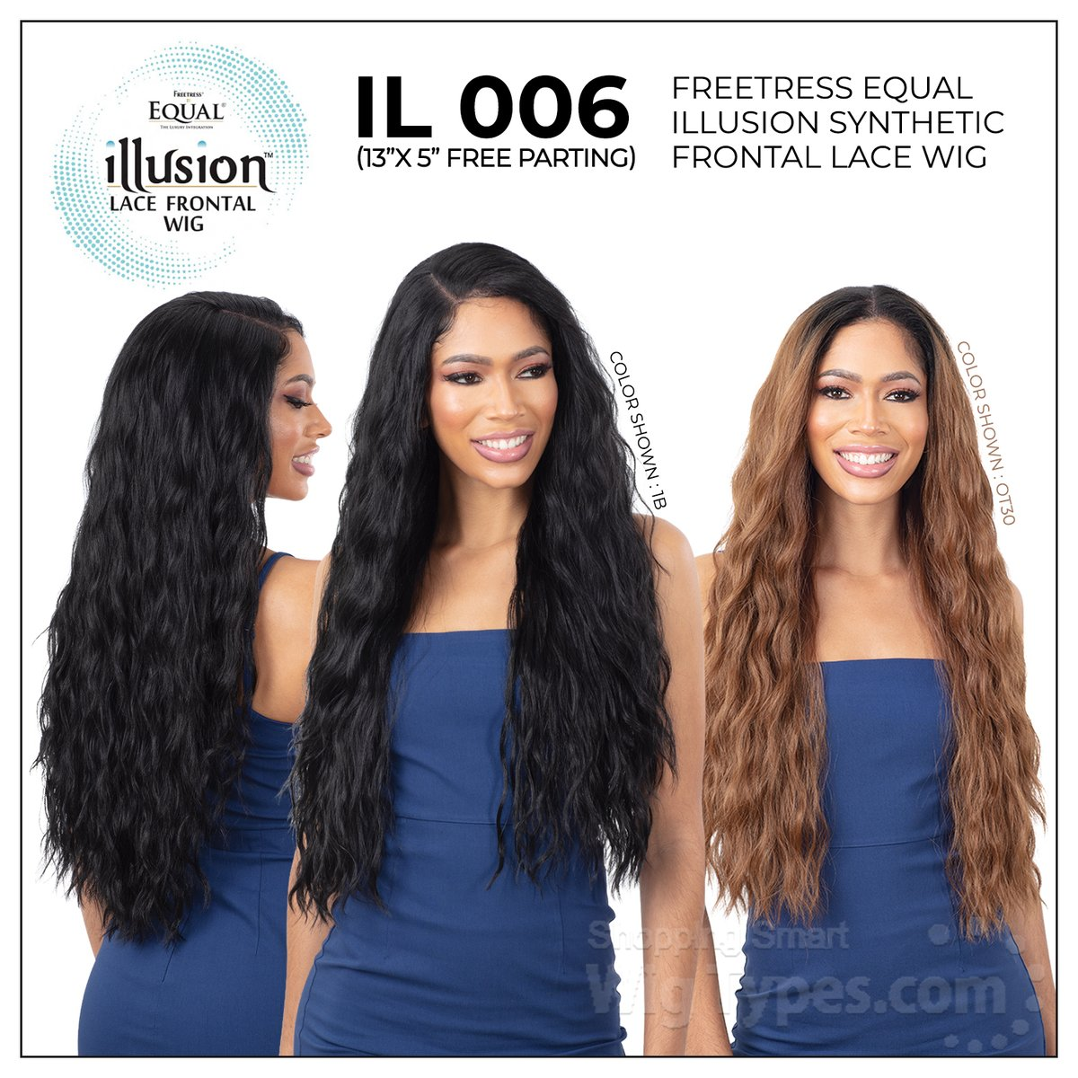 Freetress Equal Illusion Synthetic Frontal Lace Wig - IL 006 (13x5 free parting) (https://soo.nr/u7W7 )  . . . . #wigtypes #wigtypesdotcom #trendyhair #protectivestyles #blackgirlhair #blackgirlmagic #instahair #Longwigs #lacefrontalwig #illusionwig #freepartingwig #il006wigpic.twitter.com/GxqtqyLfsZ