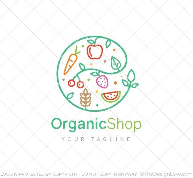The Design Love On Twitter Organic Shop Logo Business Card Template Logo For Businesses Targeting The Organic Products Industry Logo Branding Logoart Logodesign Designlove Logomaker Startups Business Https T Co Olrqlb0zt1 Https T Co