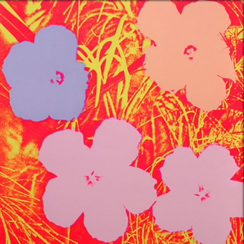The soul of nobody knows How a flower grows; oh how a flower grows  Image: Andy Warhol 'Flowers' #AndyWarhol https://t.co/D83Ml8eSUd
