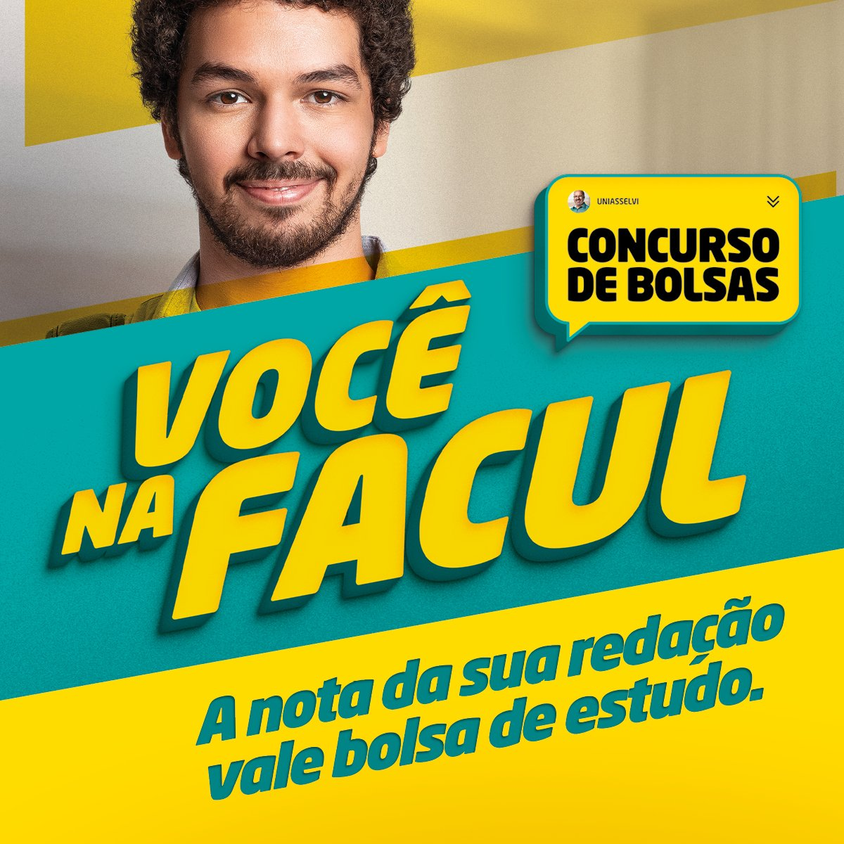 O Concurso Você na Facul, da UNIASSELVI, vai premiar as melhores redações de estudantes de todo o Brasil. Bolsas de até 100% de desconto. Inscreva-se 👉https://t.co/uf1d9MV2rG https://t.co/gVrBM0QF7t