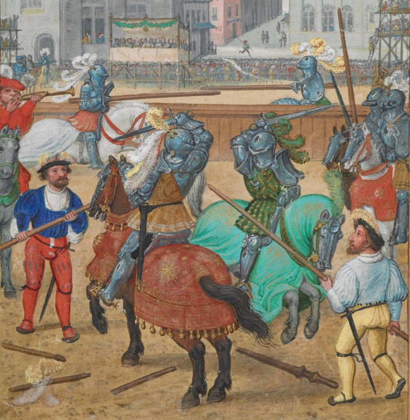 It's tournament season! Come and cheer on the Middle Ages' greatest champions in today's blogpost: