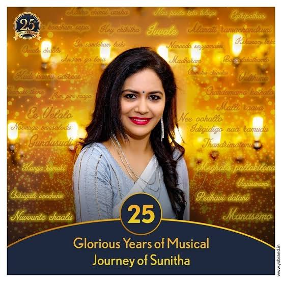 25 Glorious Years Of Singer Sunitha #25GloriousYearsOfSingerSunitha #SingerSunitha #SunithaSinger #TollywoodSingers https://youtu.be/oC32bUxjYIo pic.twitter.com/UbNJn9piIC