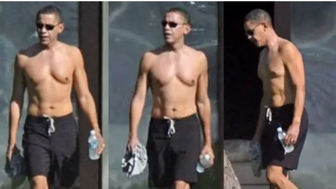 Theres #PresidentPlump, and then theres Barack Obama, the man that Donald Trump wants to be.