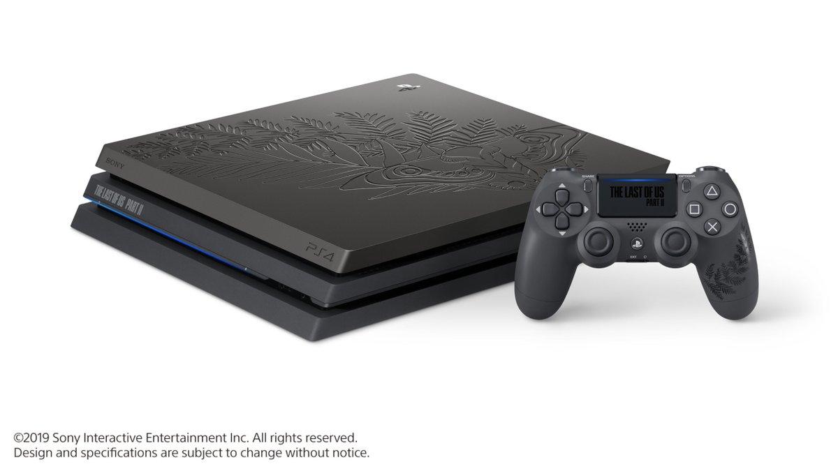 Introducing the Limited Edition The Last of Us Part II PS4 Pro bundle: https://t.co/kduxivE0vs https://t.co/nBeTFYurpZ