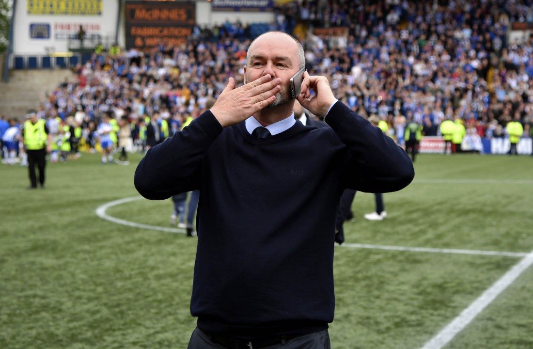 One year ago today. Thank you Steve Clarke.