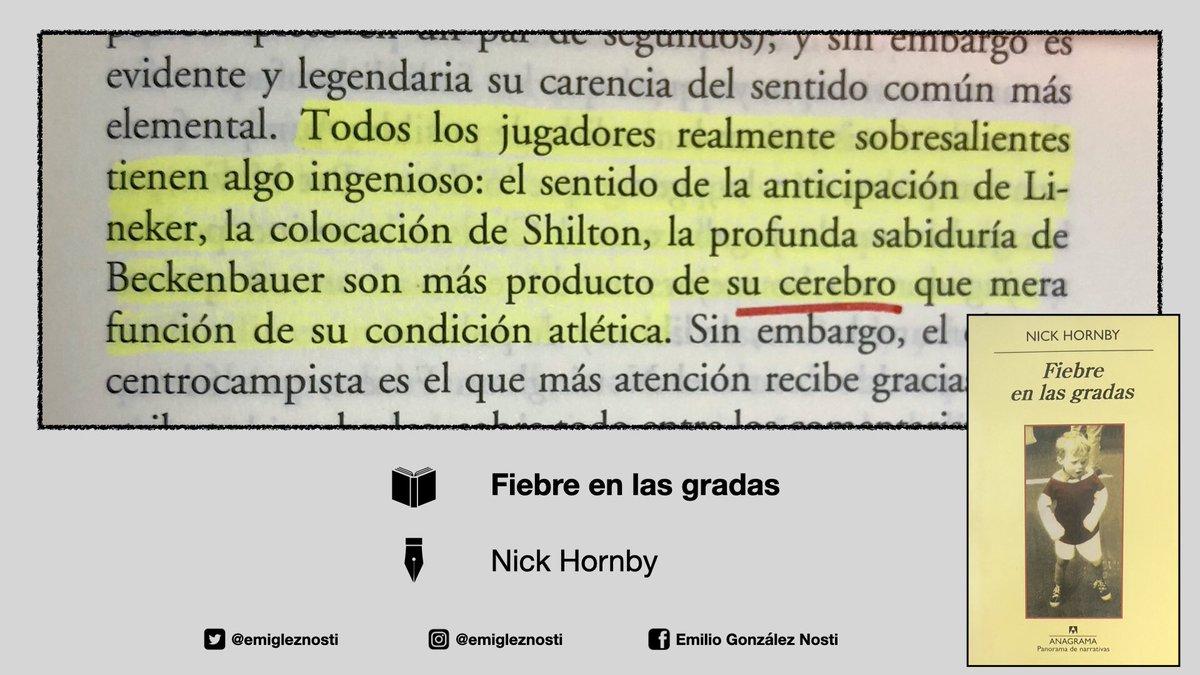 Fiebre en las gradas  Nick Hornby  #libro #futbol #Psicologia pic.twitter.com/vYoJ0PFvDs