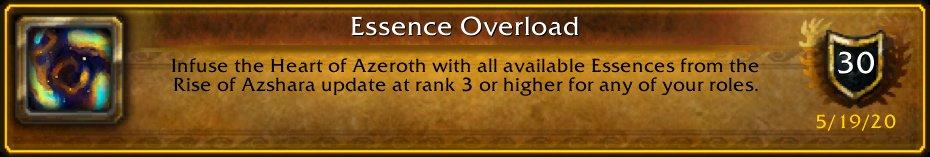 I turned the entire UI element Purple/Orange: [Essence Overload] #Warcraft