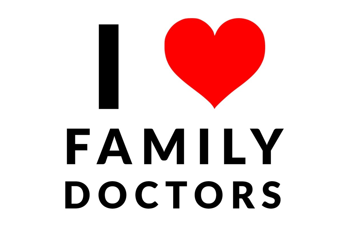I would love to see this picture posted in our communities!  Family doctors are the port of entry for health care and are always prepared to help and manage such a variety of problems.  Thank you to our Doc's for providing great comprehensive care to our patients!