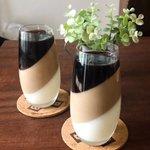 見た目がオシャレで材料4つで出来る!?「3層コーヒー牛乳プリン」の作り方!