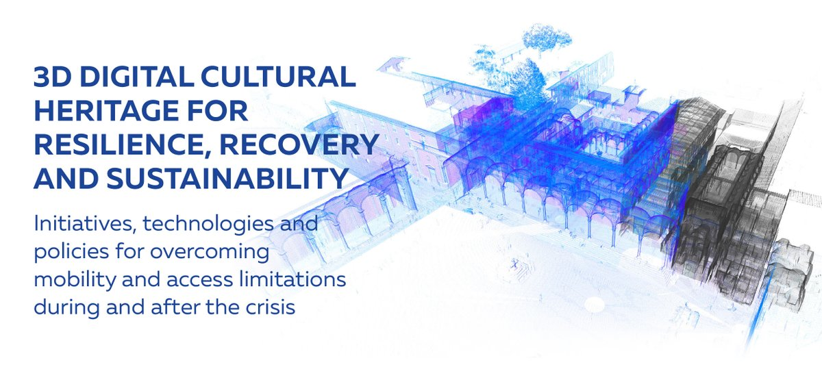 European web conference on #3D digital cultural heritage for resilience, recovery and sustainability brings research and #CulturalHeritage together. It will be streamed live on YouTube from 10-13.00 CET on 27th May 2020 @ARIADNEplus @InceptionEu @DSMeu https://t.co/znP5XB529n https://t.co/8g4ZkdceMw