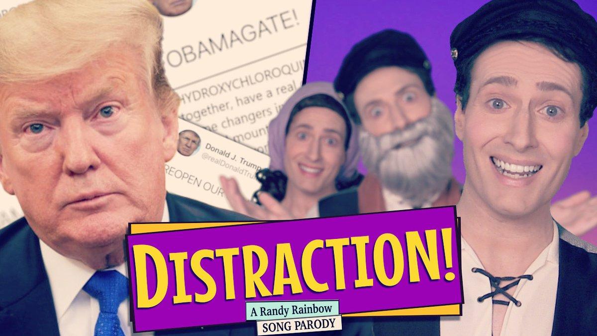 NEW VIDEO! #Distraction #FibberOfTheTruth 🎶🌈✡️🤷🏻♀️🤷🏽♂️🤷🏾♀️🤷🏻♂️ https://t.co/LegtWDrD4T https://t.co/zGs8ajkqld