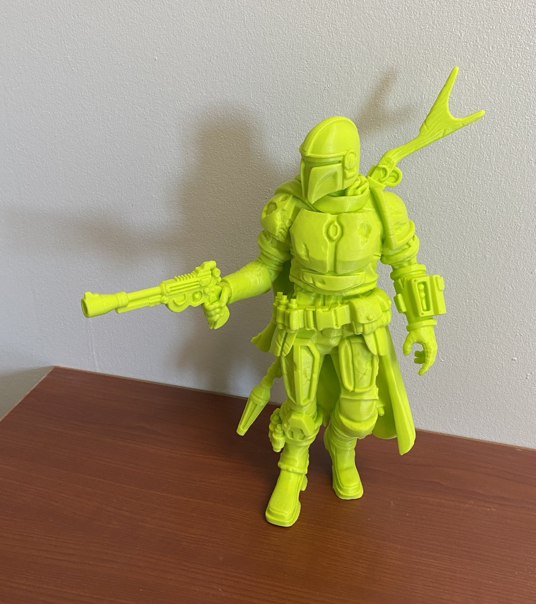 Great print showing the reliability of @lulzbot3D printers with our PolyLite™ PLA!