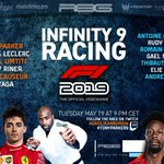 Pretty cool line up for @tonyparker infinity 9 race Follow it on twitch tonight 💯👍