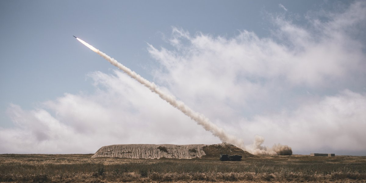 Hi, Mars! Marines assigned to @imig_marines, fire a M142 High Mobility Artillery Rocket System (HIMARS) during an exercise at San Clemente Island. HIMARS engage and destroy artillery, air defense concentrations, light armor and fortified stationary targets.