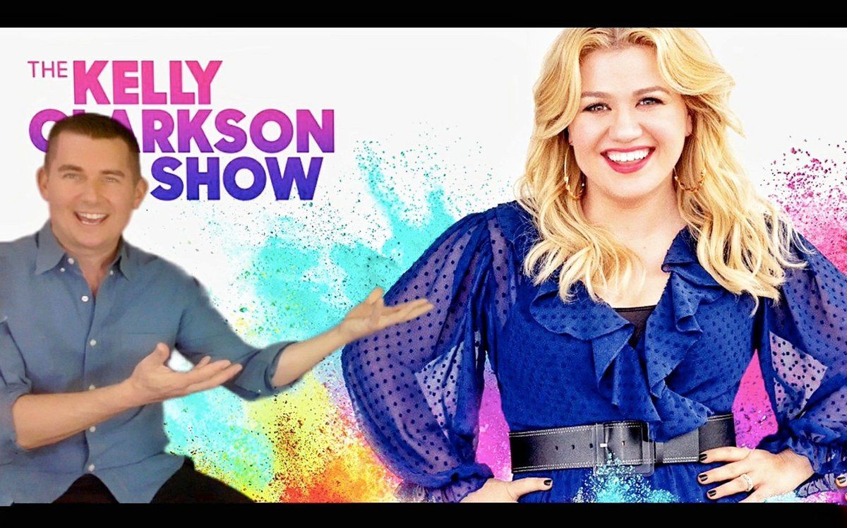 Today's the day! So excited to be a guest on The Kelly Clarkson Show. We chat about the stay-at-home order, distance teaching, and lots of SURPRISES!    #KellyClarksonShow #lightscamerasTEACH #education #teachbetter @kellyclarksonontv @teachbetterteam