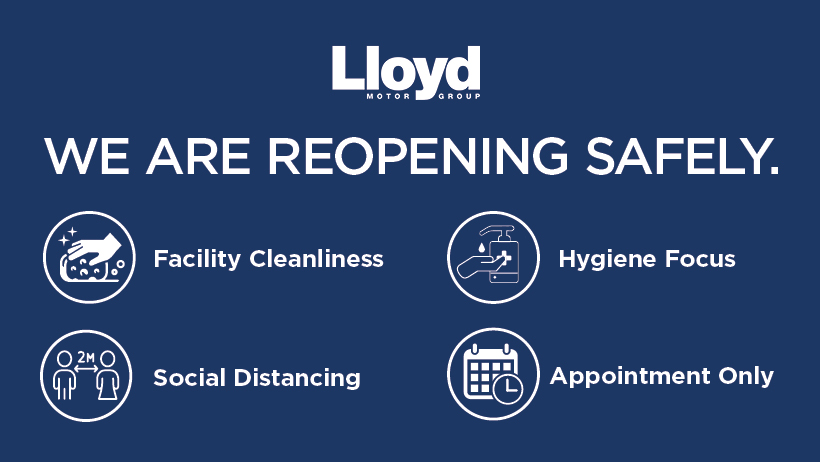 IMPORTANT UPDATE:  Our Service and Parts departments are now open for pre-booked appointments.   For more information or if you would like to book your vehicle in for a service, please visit our website:  https://t.co/LqhzhCbklP  📞 01573 224345 💻 staysafe@lloydgroup.co.uk https://t.co/GEv201wXzX