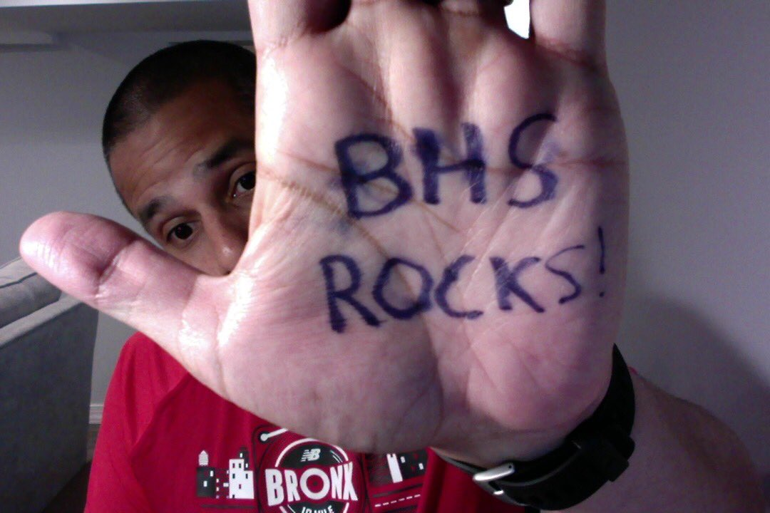 A virtual high five for my @BHS497 community! #virtualhighfiveweek #brooklyn #love