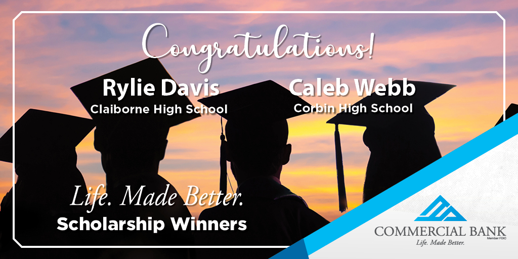 "We are excited to announce 2 winners of the 2020 ""Life. Made Better."" Scholarship Award. Congratulations, Rylie and Caleb! We thank you for being committed to making life better for those around you and can't wait to see what you do next! #LifeMadeBetter #Classof2020 #Scholarship https://t.co/kAm65xpz4l"