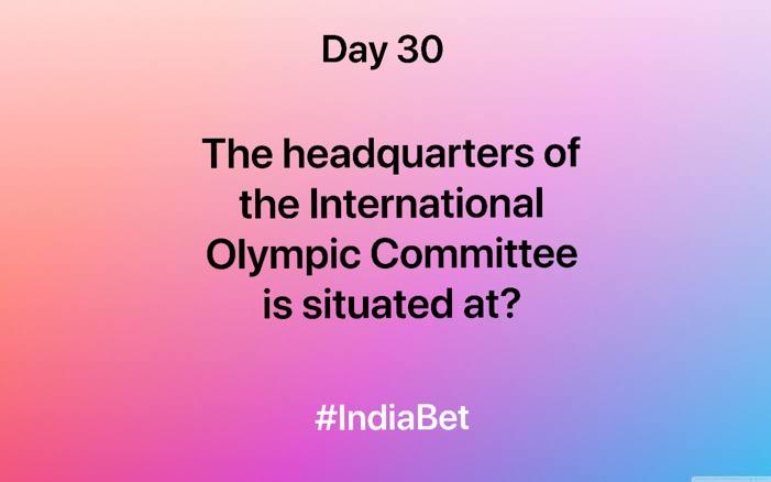 Day 30!   Answer the question & win 3000 IBR!  #ContestAlert #SportsQuiz #SportsBiz #Olympics #Gaming #MobileGames https://t.co/DLjJ0sHusV