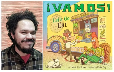 test Twitter Media - Raúl the Third joins our virtual tour to talk about his latest book ¡Vamos! Let's Go Eat. Warning: This book will make you hungry! Visit our blog to hear about what inspired the author to write the picture book, activities and much more! https://t.co/HOflsFOFM6 https://t.co/krC53a9Lv8