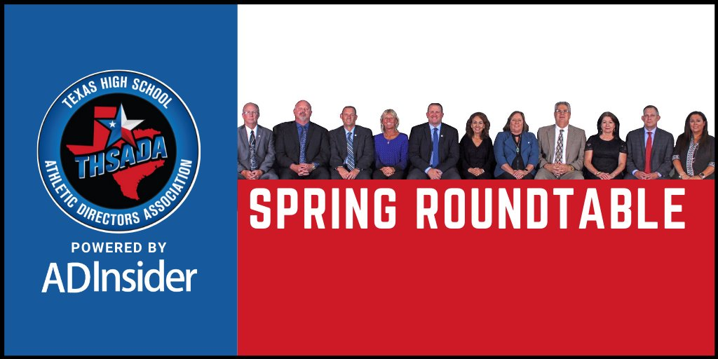 Miss the THSADA Spring Roundtable? It is now available online at @AD__insider! Watch now➡️coachesinsider.com/athletic-direc…