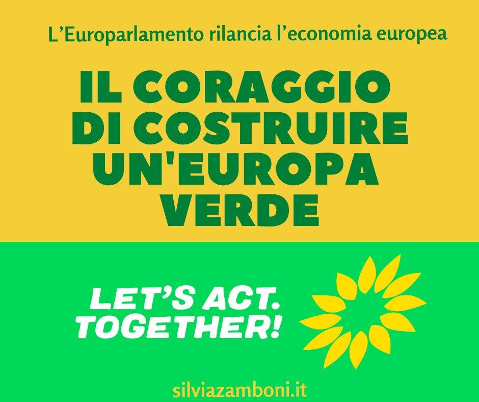 Un nuovo articolo (Il voto dellEuroparlamento per unEuropa sostenibile, amica del clima e solidale) è su Silvia Zamboni - silviazamboni.it/il-voto-delleu…
