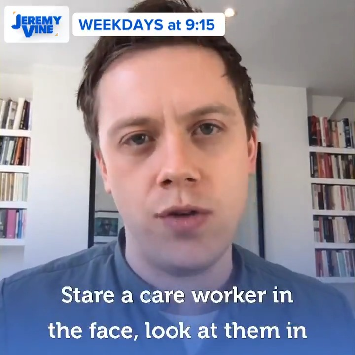 To say care workers or NHS workers are not essential as we clap them as they die in some cases is genuinely repulsive. Owen Jones tells us why he thinks the proposed points-based immigration bill is unfair on many migrant workers. @OwenJones84 | @TheJeremyVine | #JeremyVine