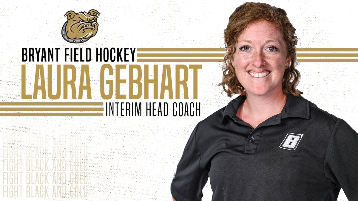 We would like to officially congratulate @LauraGebhart for being promoted to Interim Head Coach of our program!   #WeAreBryant https://t.co/7UsjX2cIha
