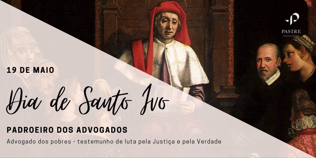Hoje comemora-se a memória litúrgica de Santo Ivo, o padroeiro dos advogados e advogadas! #advogado #santoivo #padroeiropic.twitter.com/JPAGLcHtDN