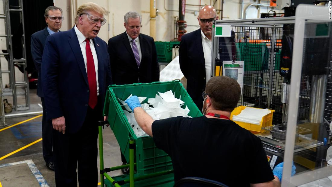 Masks are required at the Ford manufacturing plant President Trump will visit this week cnn.it/2LNEIDX