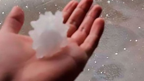 Some Mexicans Believe Coronavirus-shaped Hailstones 'Are a Message From God to Stay Home'