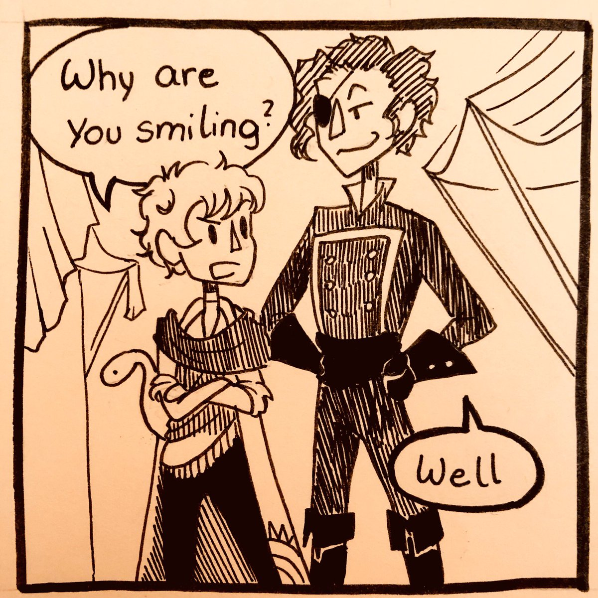 Another stupid The Arcana comic!  have fun!   Never make fun of smol ppl! >:3 #thearcana #thearcanagame #thearcanafanart #fanart #thearcanaasra #thearcanajulian #thearcanailya #juliandevorak #ilyadevorak  #sketchbook #comic #comicstrippic.twitter.com/pg8tyVuyqI
