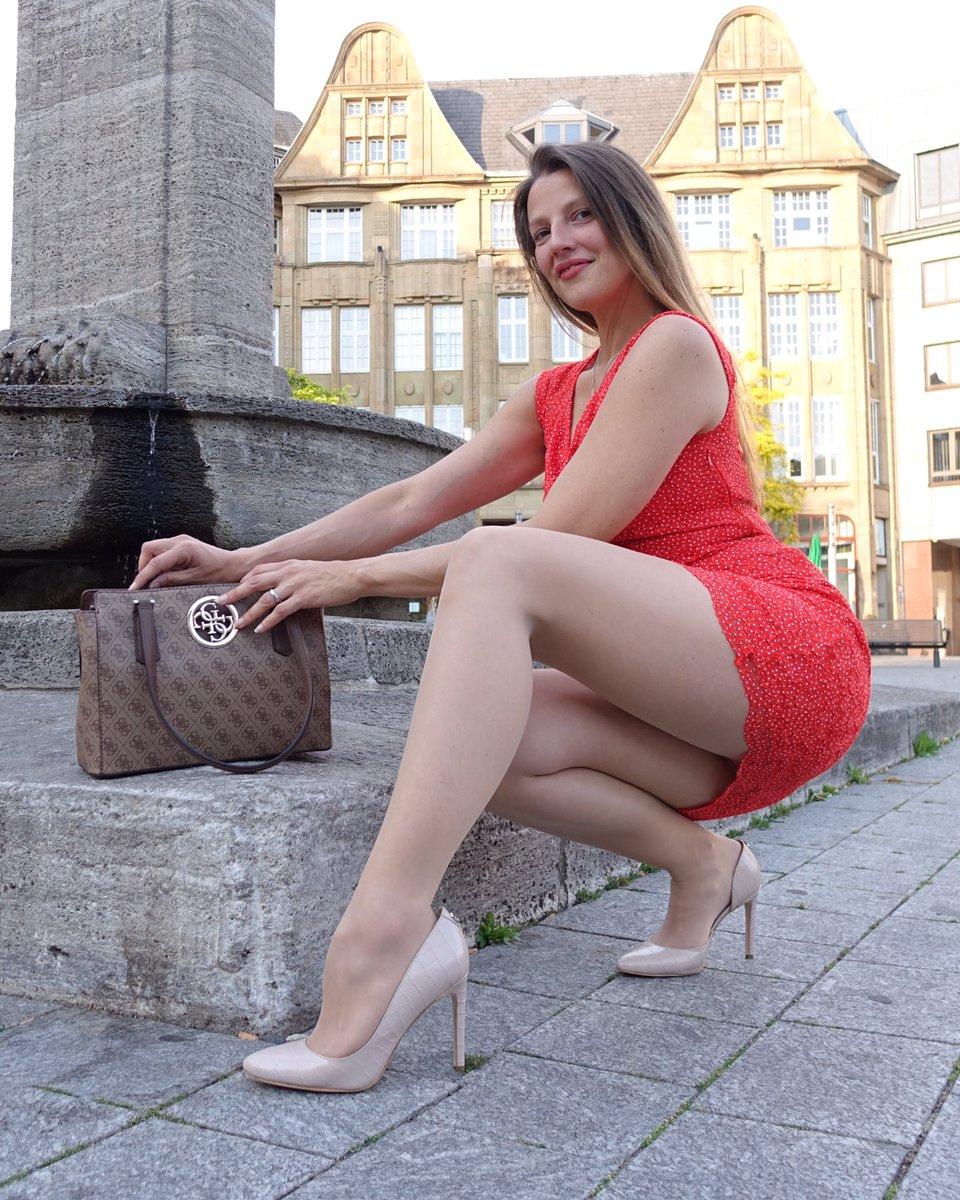 New dress, new heels ❤️  #femininstyle #pantyhosefashion #pantyhose #legs #tights #fashiontights #pantyhoselegs #tightsfashion #nylonlegs #nylonfashion #tightslover #nylonlover #fashionpantyhose #fashionnylons #fashionhosiery #fashionlegs #mystylerocks #mylookoftheday #reddress