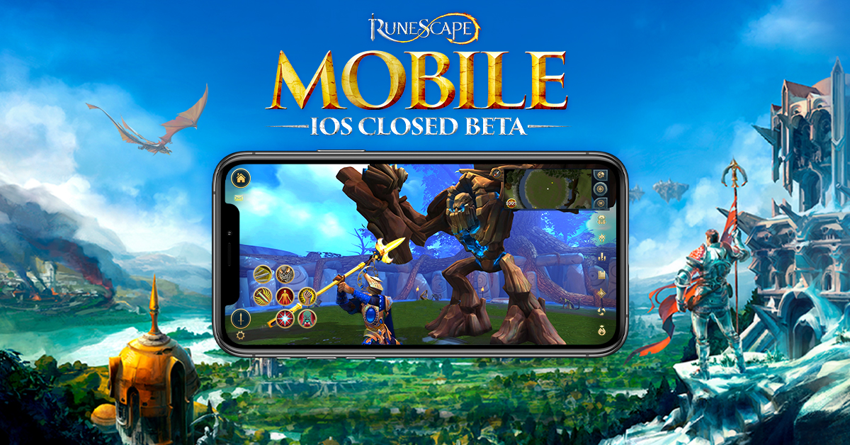 """RuneScape on Twitter: """"🍏 An additional wave of sign-ups to the #RSMobile  iOS Closed Beta will open tomorrow - with 2,000 available slots! 🗓️  Wednesday May 20th - 17:00 BST (16:00 Game"""