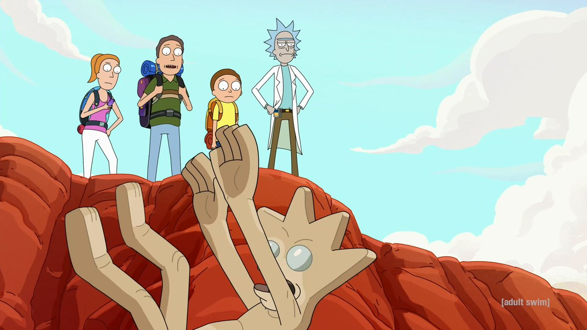 Just a normal Smith family vacation. New #RickandMorty this Sunday at 11:30pm ET/PT on @adultswim