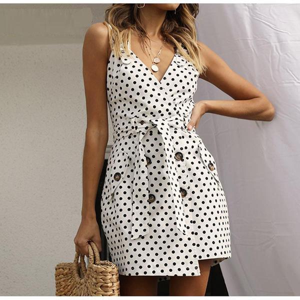 Wrap Sashes Button Polka Dot Blazer Dress   starting at $43.09.  Checkout https://shortlink.store/9joriy7wbM   #klozetstyle #style #fashionpic.twitter.com/Q7djrMFLIv