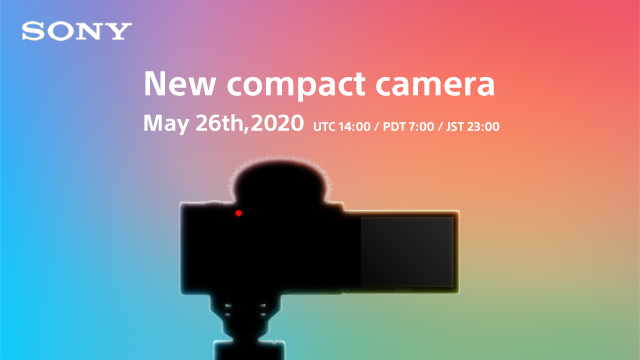 Houd deze pagina in de gaten voor de aankondiging van een fantastische nieuwe compactcamera van Sony... https://t.co/pIPM7iptWa