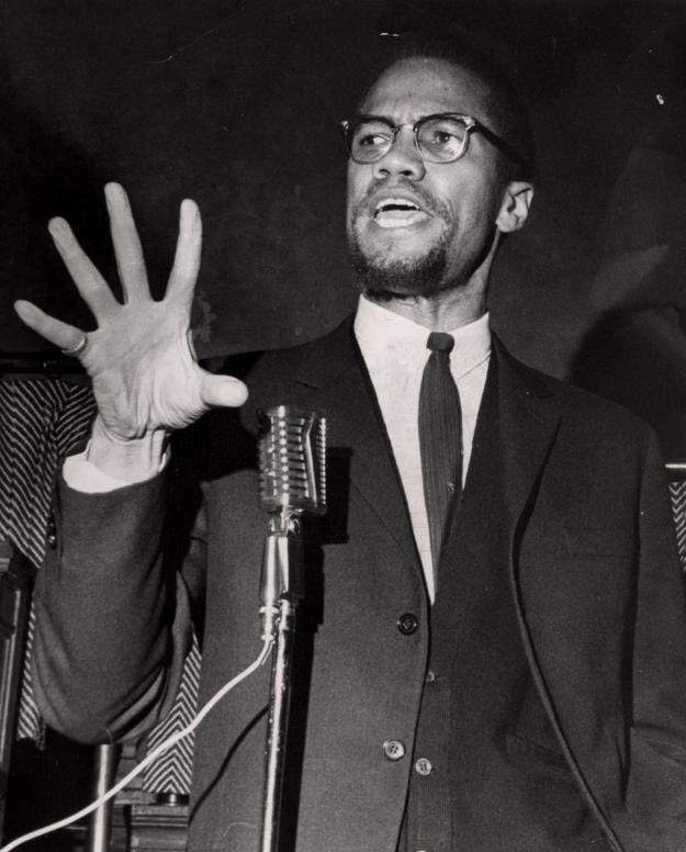 """The Negro revolution is controlled by foxy white liberals, by the Government itself. But the Black Revolution is controlled only by God."" - Malcom X"