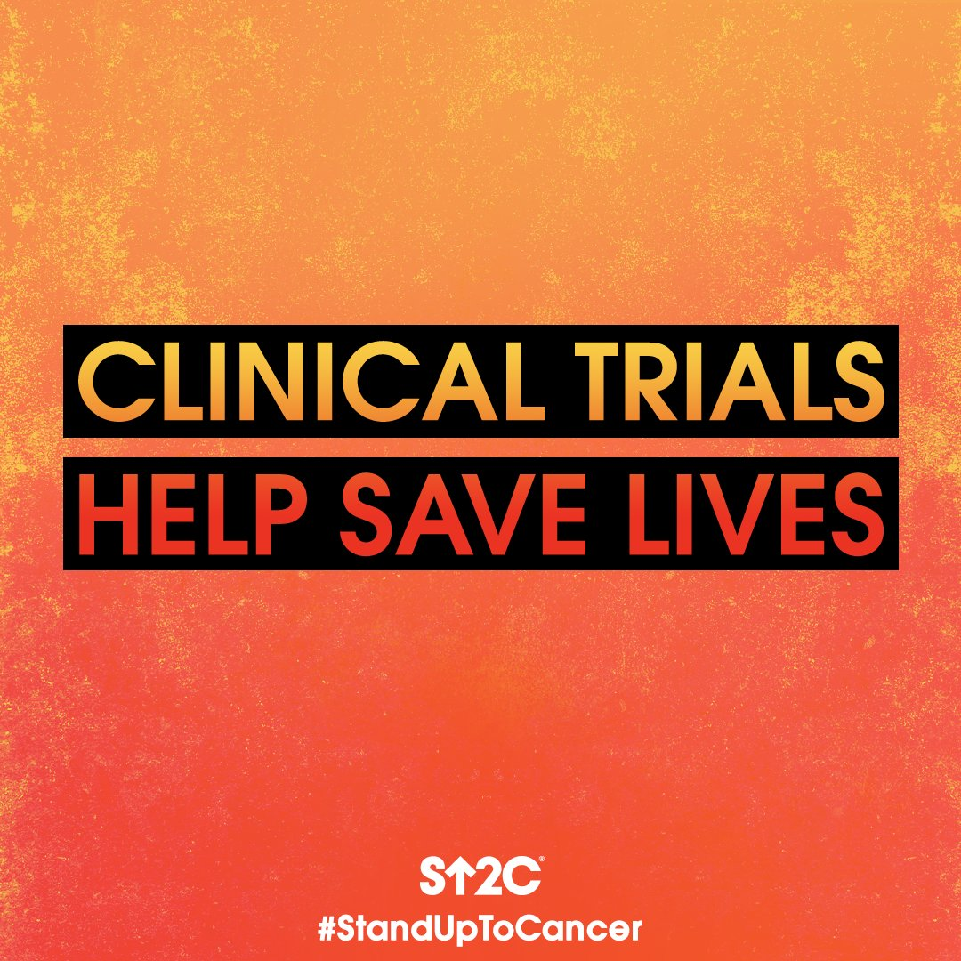 Tomorrow is #ClinicalTrialsAwarenessDay. See how clinical trials offer a source of hope for a world with more cancer survivors at StandUpToCancer.org. #StandUpToCancer