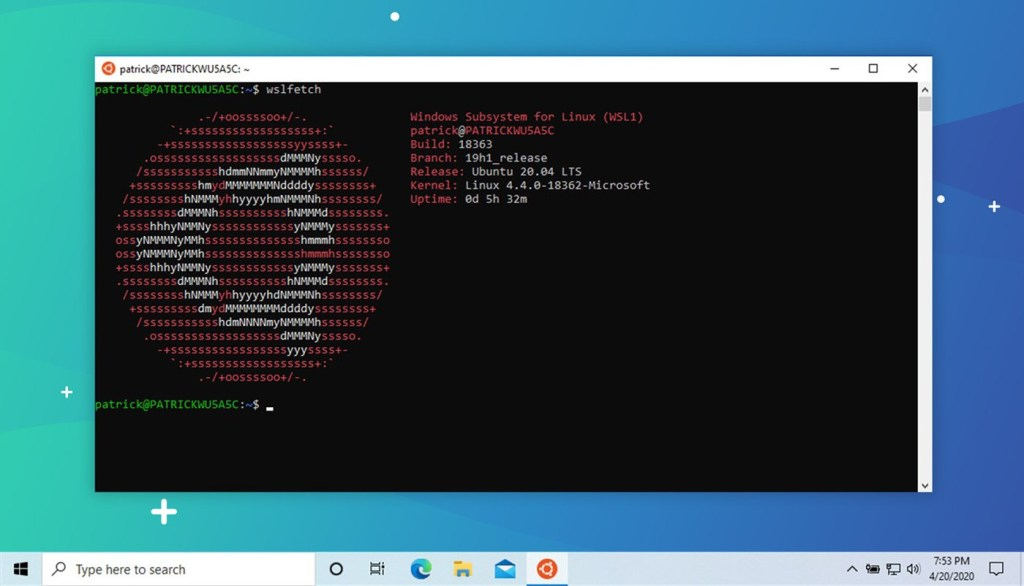 Omg Ubuntu On Twitter Wsl2 Adds Support For Running Gui Linux Apps On Windows 10 Https T Co Uk0fqgtkm3