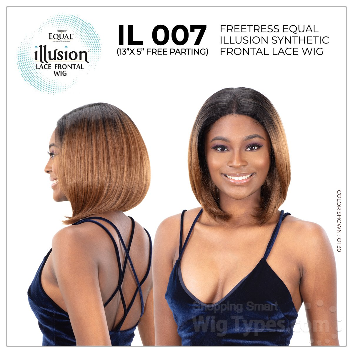 Freetress Equal Illusion Synthetic Frontal Lace Wig - IL 007 (13x5 free parting) (https://soo.nr/88sF)    . . . #wigtypes #wigtypesdotcom #trendyhair #protectivestyles #blackgirlhair #instahair #lacefrontalwig #syntheticwigs #illusionwig #freepartingwig #il007wigpic.twitter.com/g77G9DxNC6