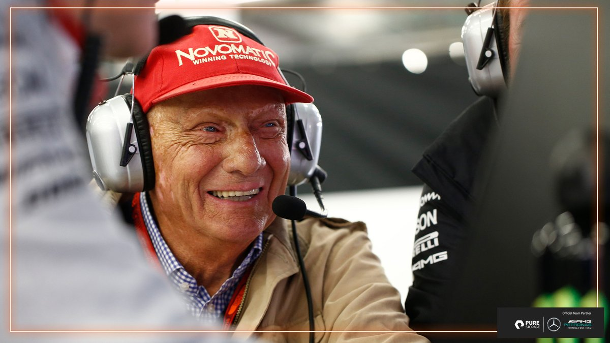 If there was one man who taught us that giving up was not an option, it was Niki ❤️  Today we remember our friend, Niki Lauda, one year on from his passing. https://t.co/uk2rk8Cfp7