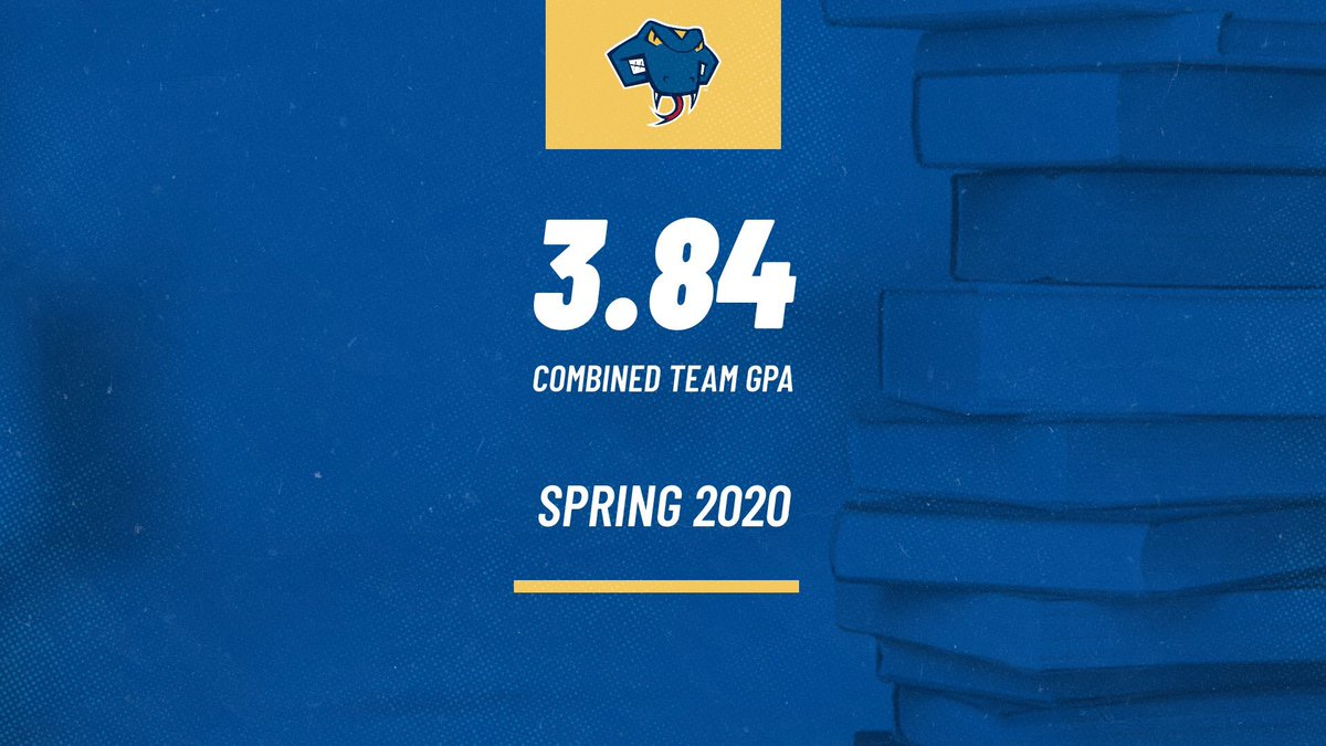 Successful on the course and in the classroom. Our men and women achieved a 3️⃣.8️⃣4️⃣ combined team GPA this semester. Well done Rattlers! 🏌️♂️🏌️♀️⛳️📚 #FangsOut
