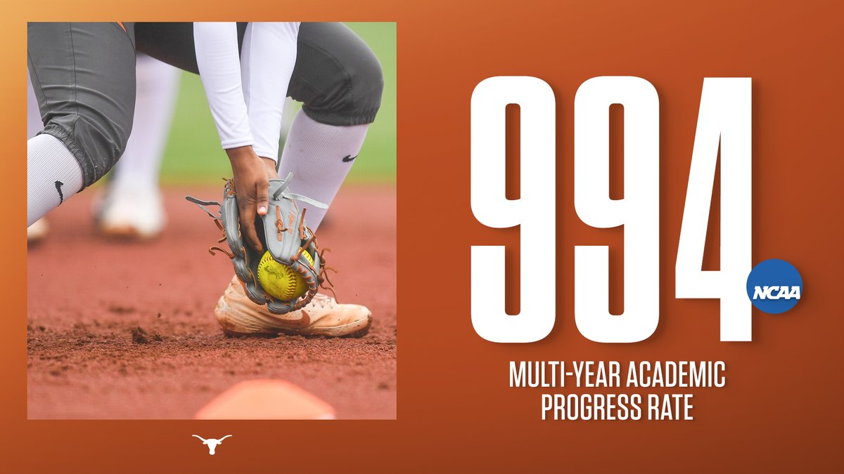 Softball getting the work done both on and off the diamond! #OneTeamOneTexas 🗞️ - hookem.at/APR2020