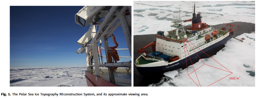 """""""The polar sea ice topography reconstruction system"""" by S Sorensen, V Veerendraveer, W Treible, A Mahoney & C Kambhamettu in now available in ANNGLAC First View https://doi.org/10.1017/aog.2020.21… @CambridgeCore @UDelaware @UDengineering #CIS @UAFGI @IGS2019 pic.twitter.com/EY5GQSsOZj"""