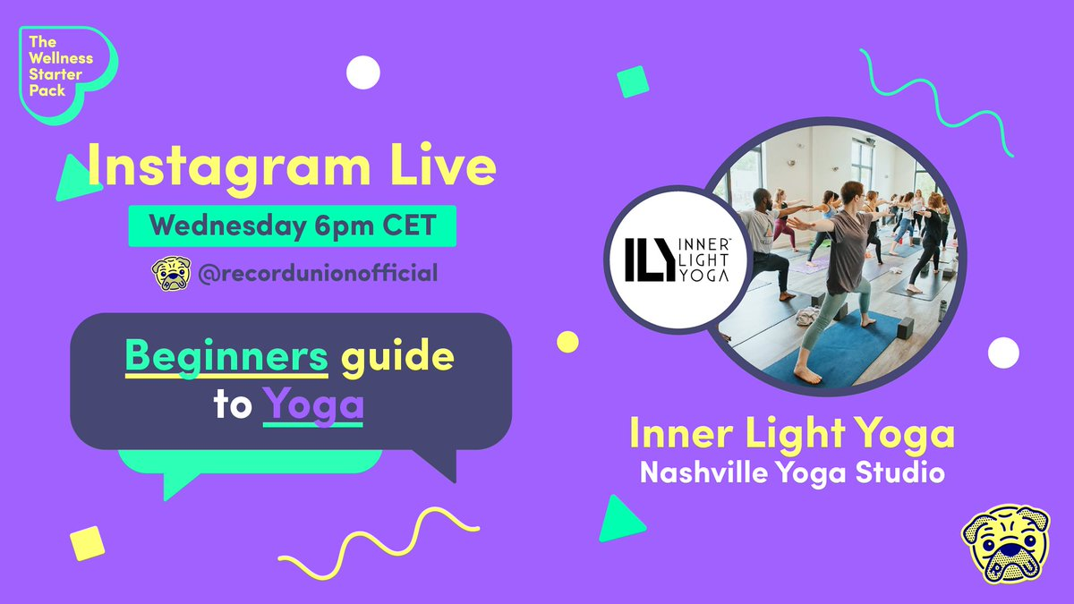 Join our #InstagramLive tomorrow as we host a beginner's guide to #yoga with Nashvilles @innerlightyogan! Tune in at 6pm CET: fal.cn/37H53 @gracieschram will host Emmy from #innerlightyoga as she helps you practice your breath, movement and use music to build energy.