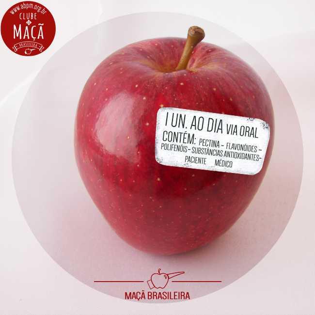 Uma maçã brasileira por dia é saúde e alegria por toda a vida! Saborosa, saudável e segura, esta fruta incrível alimenta e ajuda à saúde desde a primeira infância. Veja 11 benefícios:  http://bit.ly/11beneficiosmaca… .  #MaçaBrasileria #SaúdeEAlegria #AlimentaçãoSaudável pic.twitter.com/VesHYkc2DN