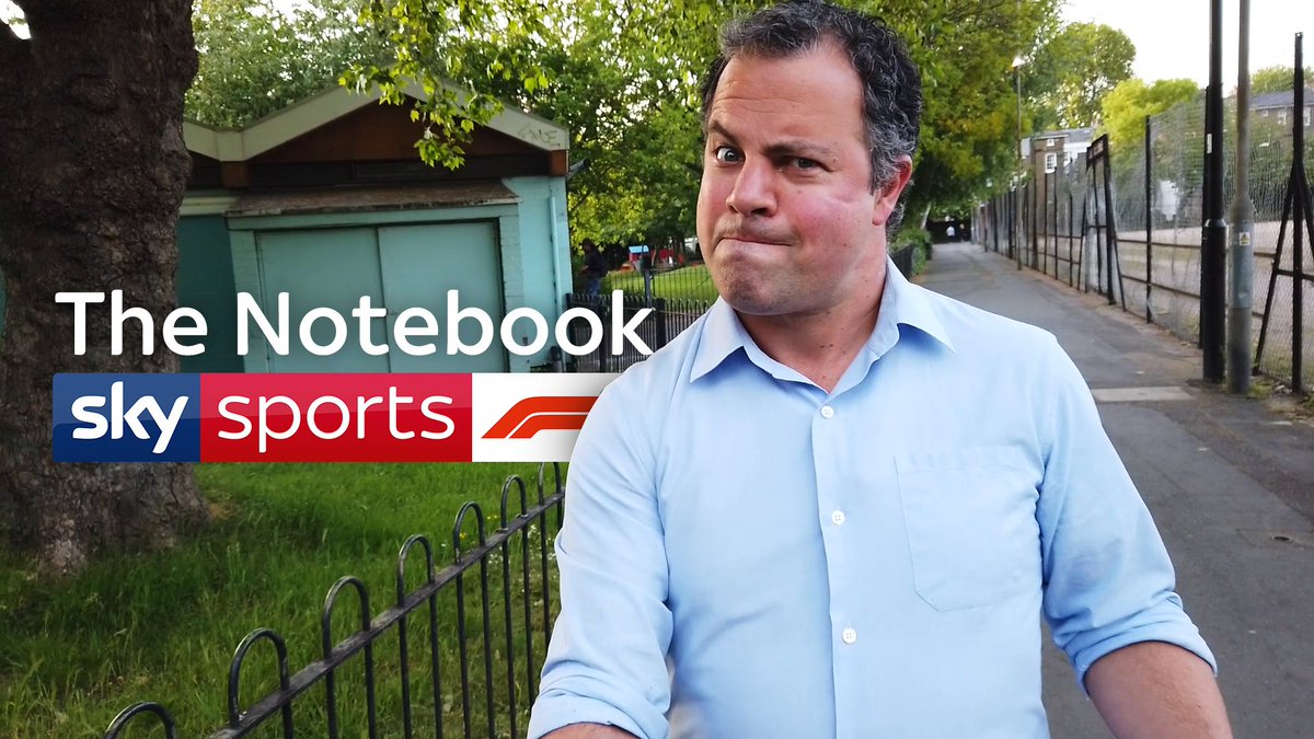 New episode of The Notebook with @tedkravitz coming tonight at 8:00 PM! ⏰  📺 Sky Sports F1 | YouTube | Facebook | Instagram  #SkyF1 | #F1 | #TheNotebook https://t.co/CgJs5L9tqj
