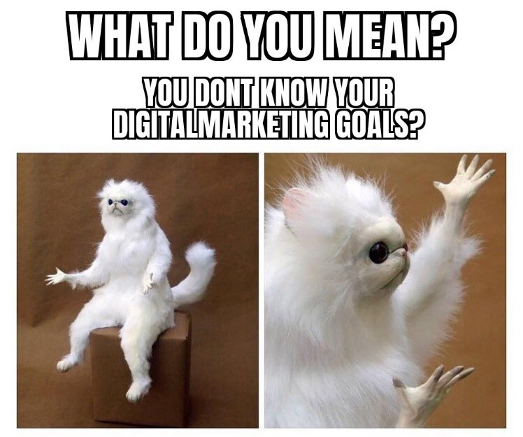 Setting marketing goals is the first step towards success! What are your biggest marketing objectives? Let us know in the comments below! #soccermemes #memes4ever #memeschile #memesarelife #memesespa #memeslayer #gujjumemes #memesdank #memesforlife #memester #memes2goodpic.twitter.com/Dj5HCMaOuO